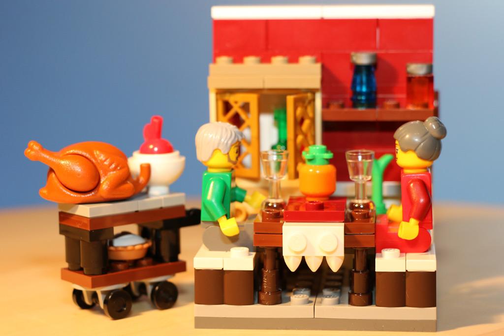 Es ist angerichtet: Das Festmahl. | © Andres Lehmann