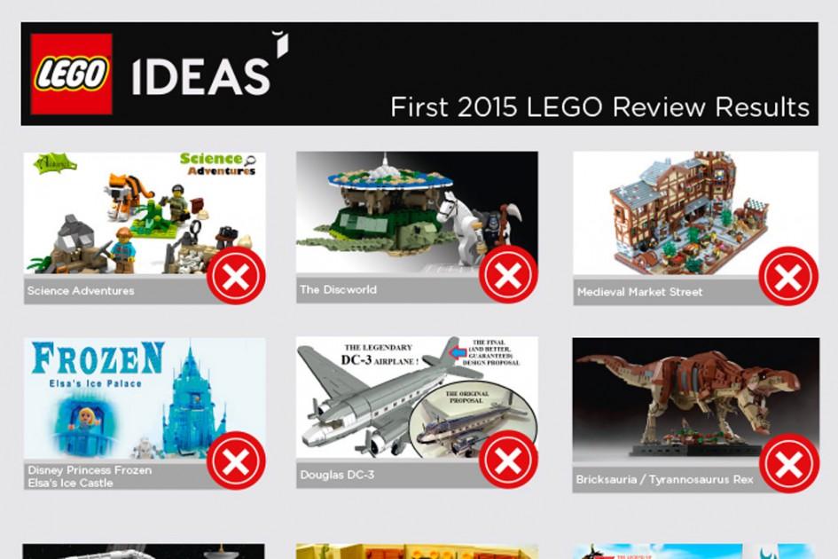Satz mit X, was wohl nix... | © LEGO Group