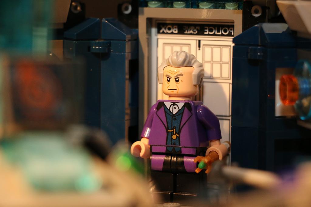 Der zwölfte Doktor in der Tardis | © Andres Lehmann