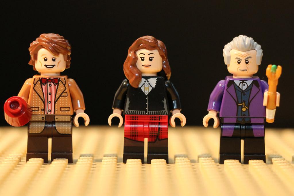Drei Minifiguren sind mit von der Partie | © Andres Lehmann