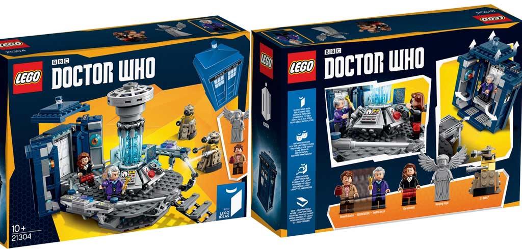 Doctor Who: Achtung, hier kommt ein Karton! | © Lego Gruppe