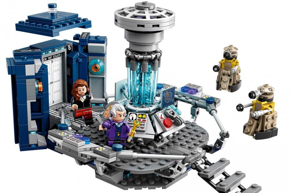 Doctor Who ist in der Lego-Welt angekommen | © Lego Gruppe