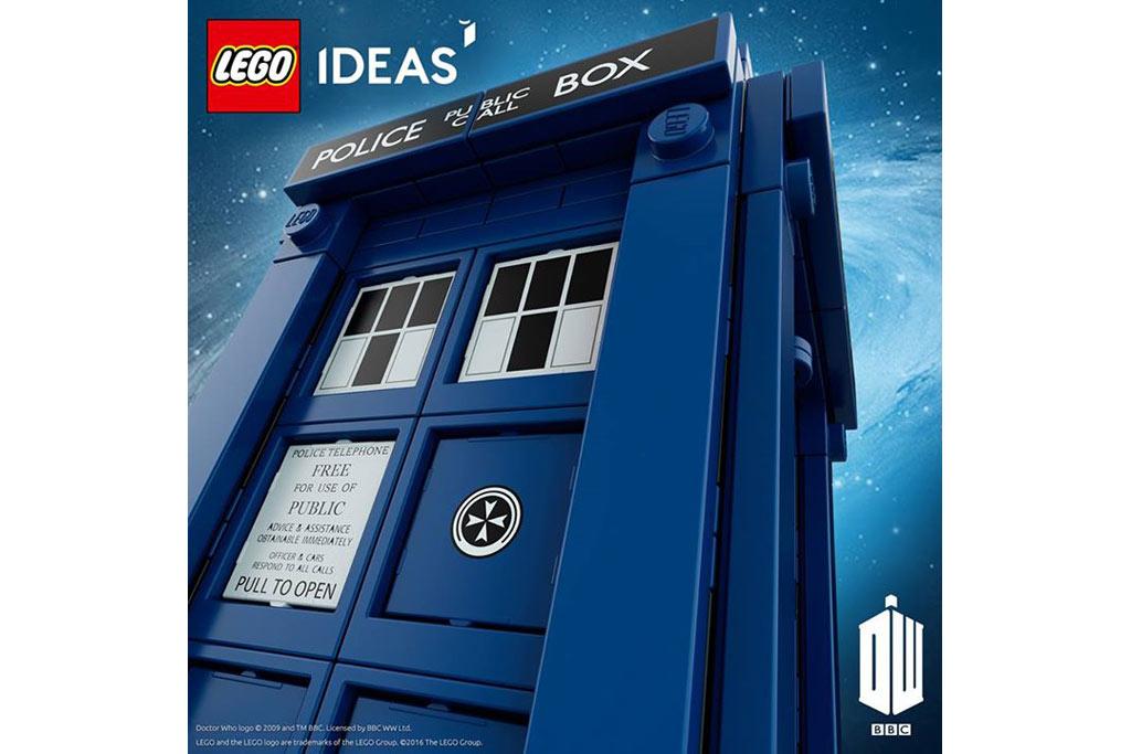 Der Doctor ist im Anflug... | © LEGO Group