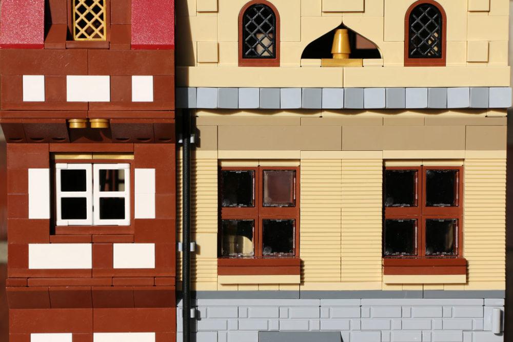 Lego MOC Modulare Gebäude – ein Fachwerk und ein