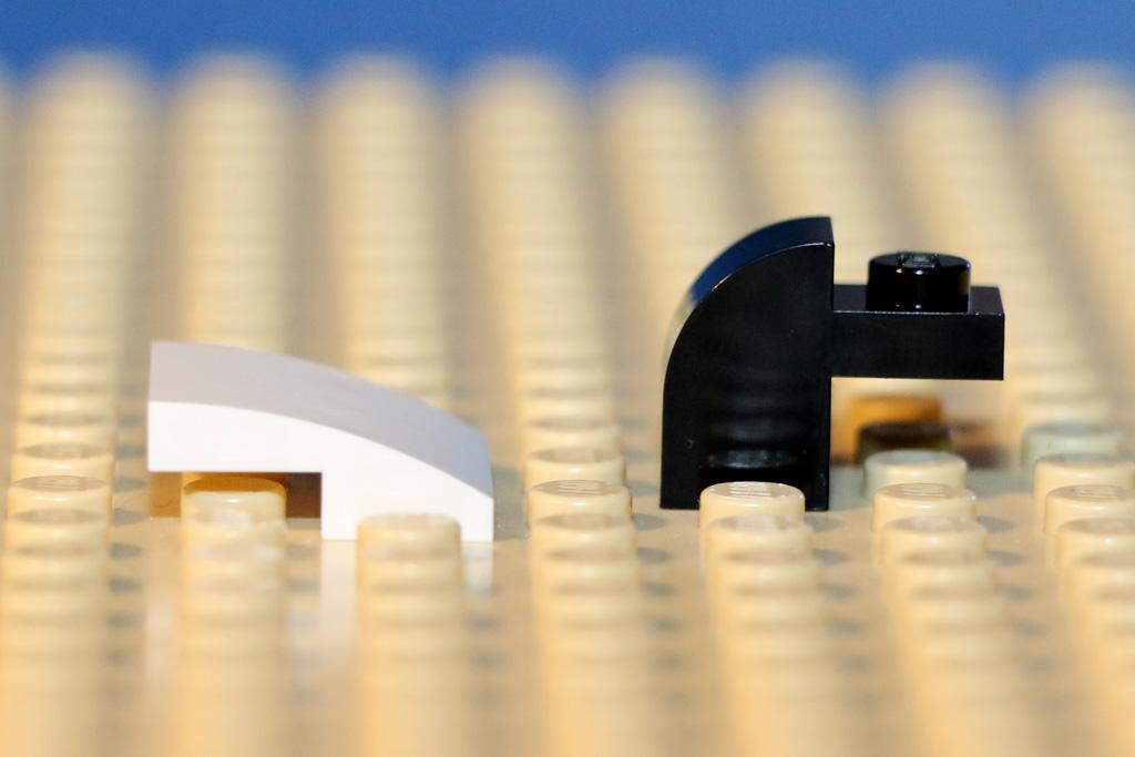 Auch bei Lego wird zuweilen abgerundet | © Andres Lehmann
