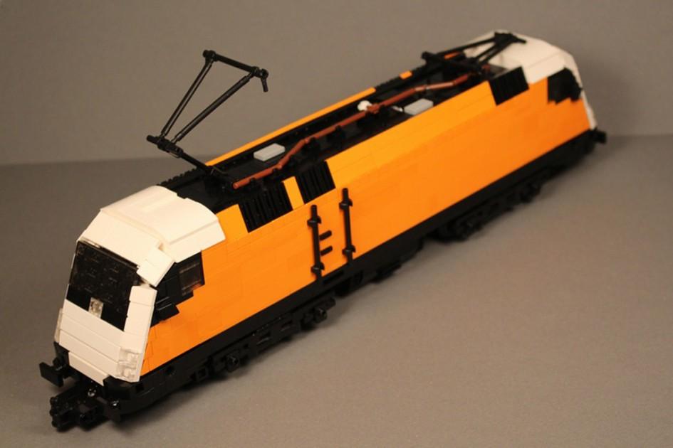 RC Lego Siemens Taurus   © Gábor Horváth