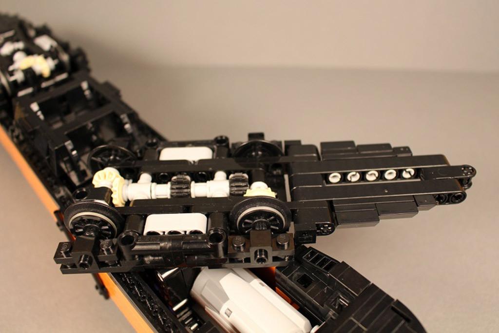 Antrieb des Lego Taurus | © Gábor Horváth