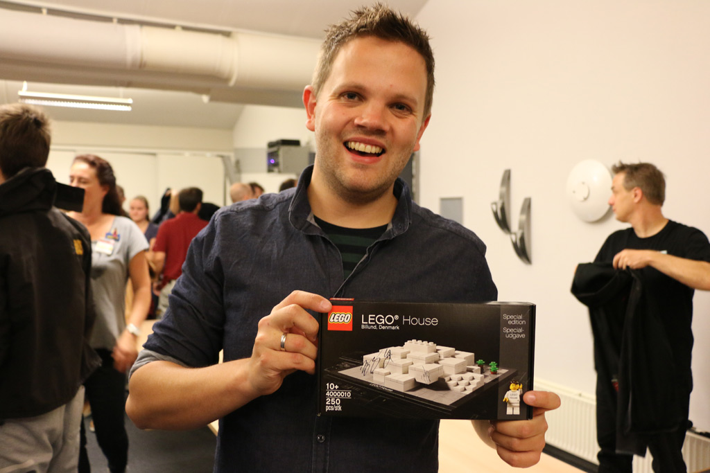 Caspar J. Bennedsen from the steering team: New owner of the Lego House with designer signature | © Andres Lehmann