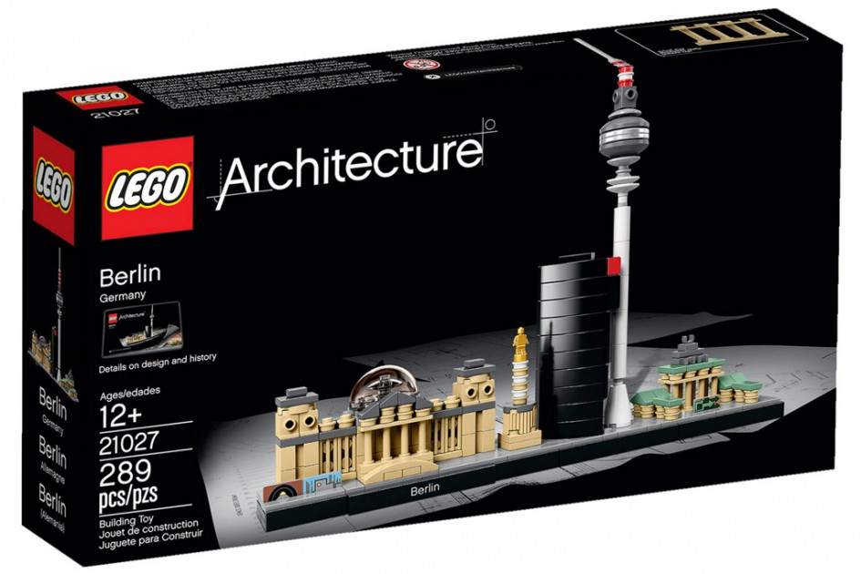 Neue Lego Architecture Sets in 2016: Berlin, New York City, Venedig ...