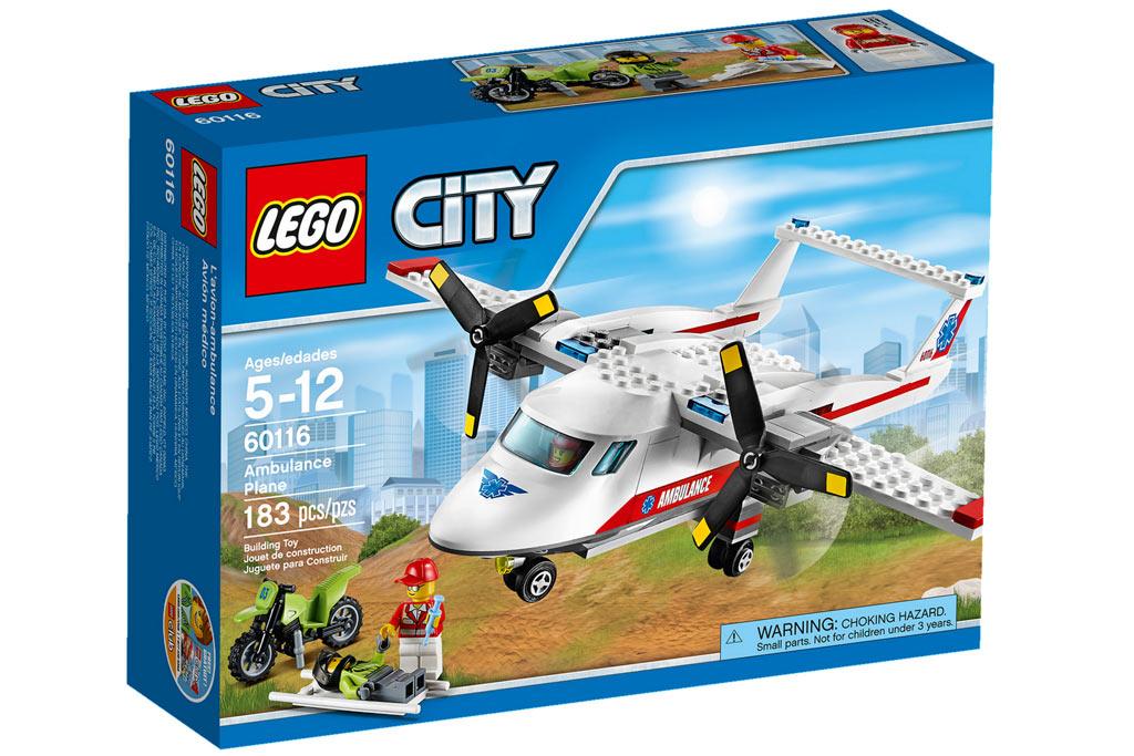 Das Rettungsflug kommt angedüst | © LEGO Group