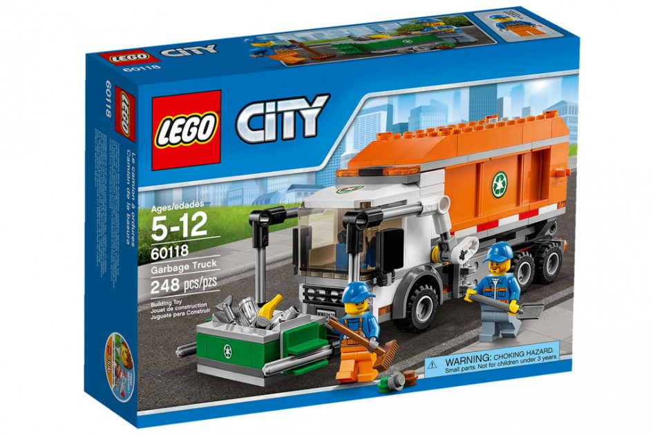 Neue Lego City  Müllabfuhr | © LEGO Group