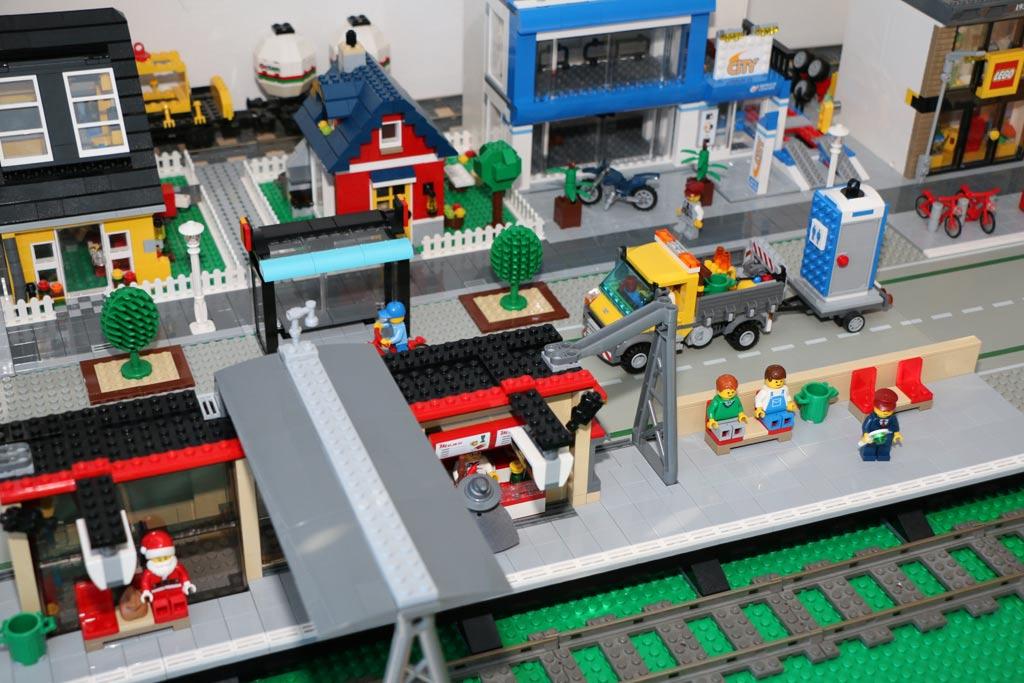 Kleiner Bereich der Lego City auf der Zusammengebaut 2015 | © Andres Lehmann