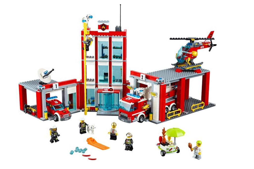 ... die Feuerwehr ist da! | © LEGO Group