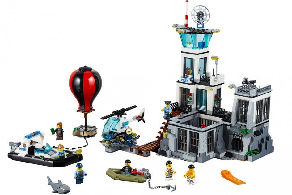 Lego City Gefängnisinsel: Gelingt der Ausbruch? | © LEGO Group