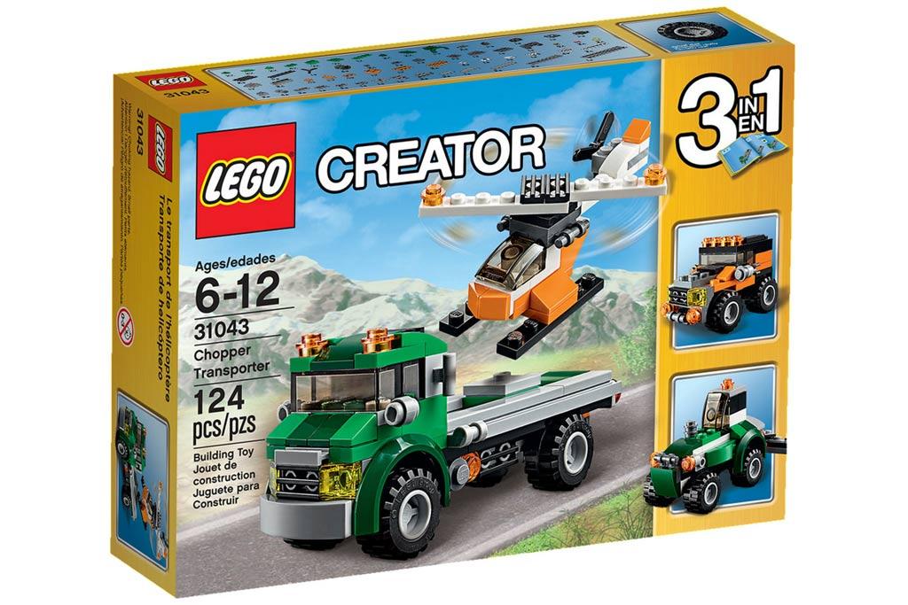 Und ein neuer Hubschrauber darf natürlich nicht fehlen! | © LEGO Group