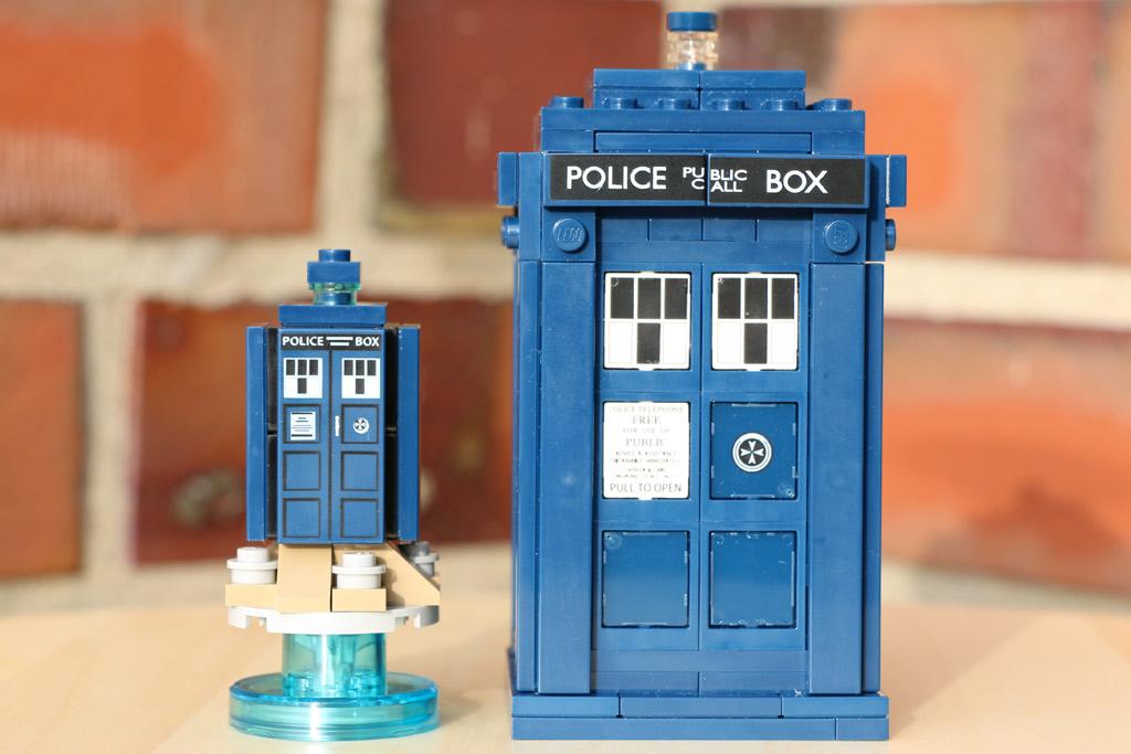 Kleine und große TARDIS | © Andres Lehmann