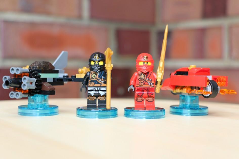 Lego Dimensions Ninjago Team Pack   © Andres Lehmann
