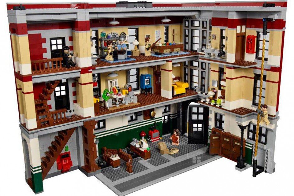 Des Geisterjägers Hauptquartier | © LEGO