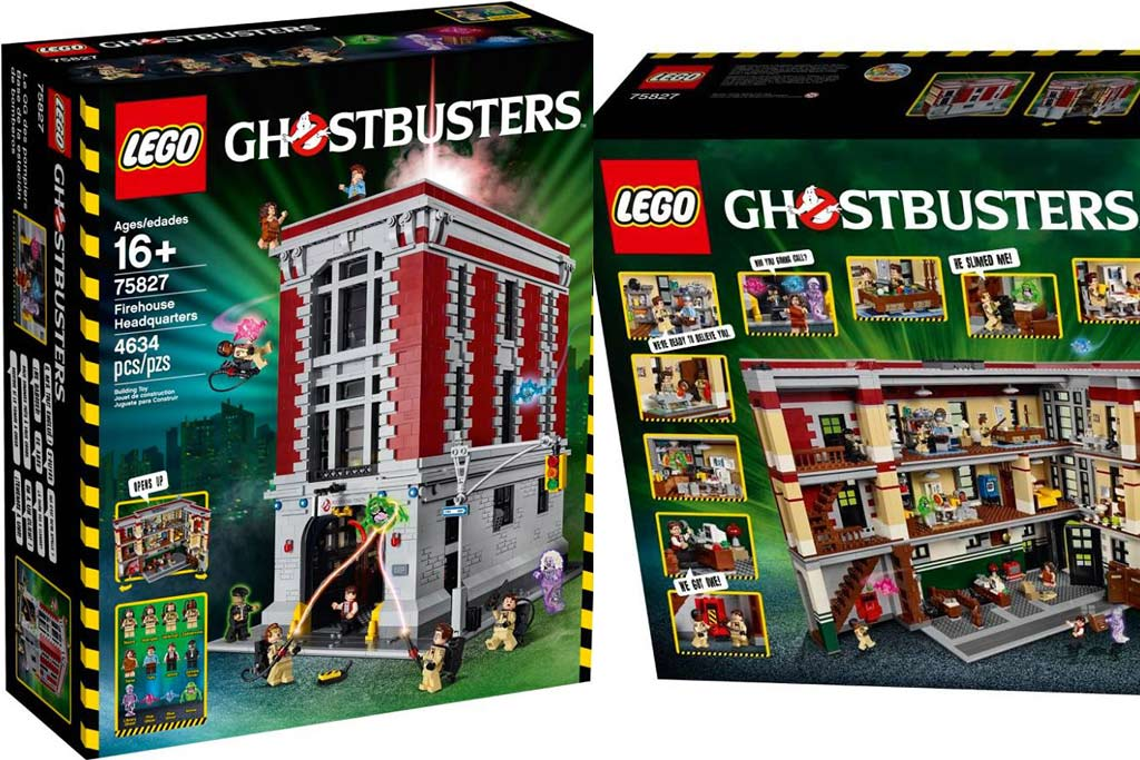 lego ghostbusters feuerwehr hauptquartier 75827 offizielle set bilder des innenlebens. Black Bedroom Furniture Sets. Home Design Ideas