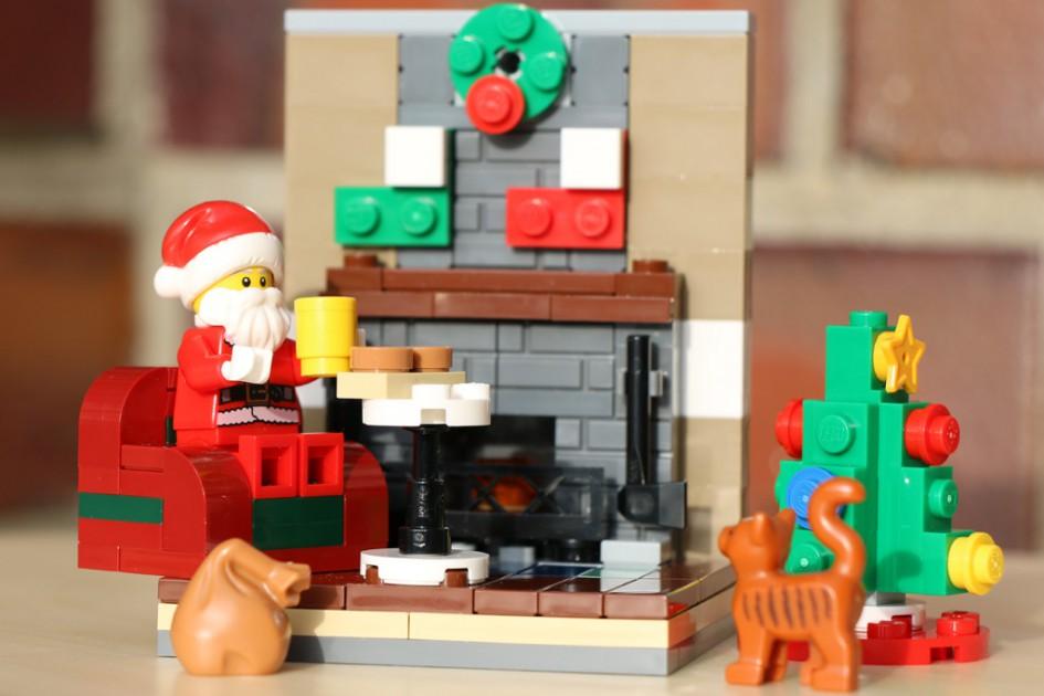 Der Weihnachtsmann ist da!   © Andres Lehmann