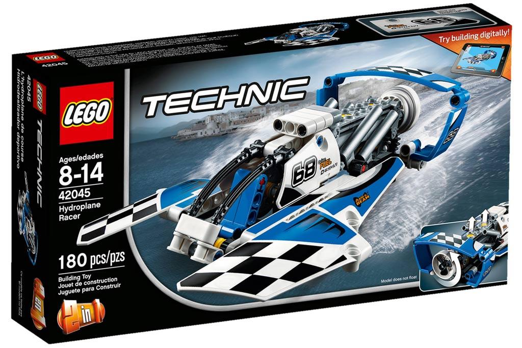 Das neue Lego Technic Rennbegleitboot | © LEGO Group