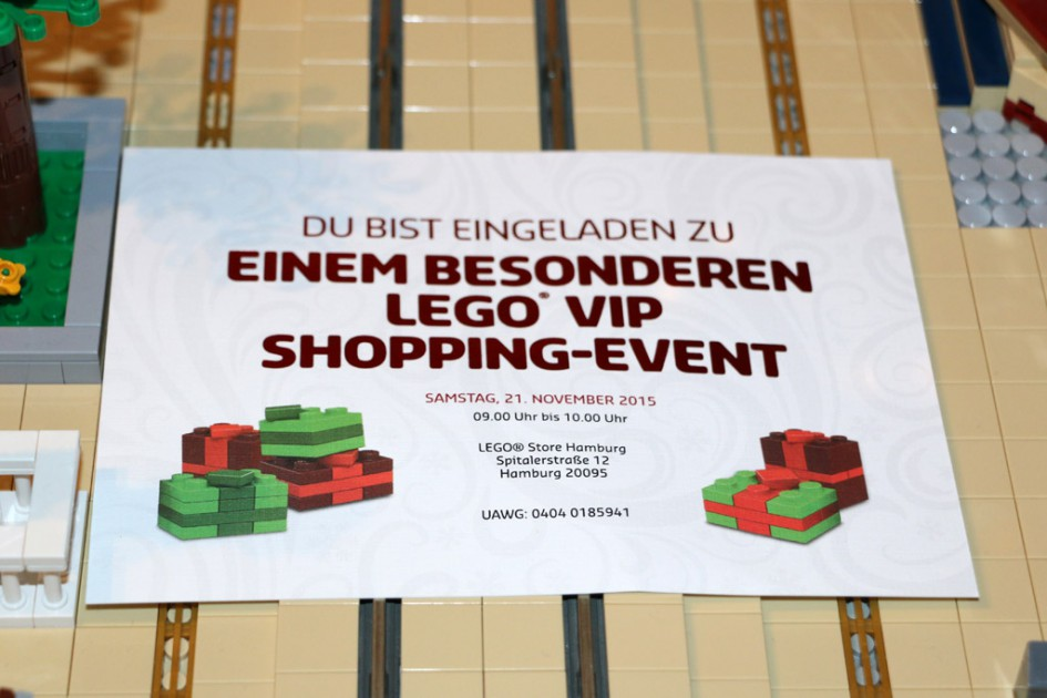 Besonderes Lego VIP Shopping-Event | © Andres Lehmann