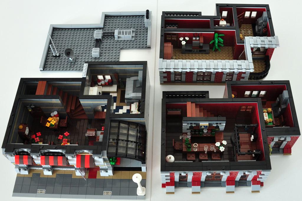 Alle modularen Ebenen auf einen Blick | © Peedeejay