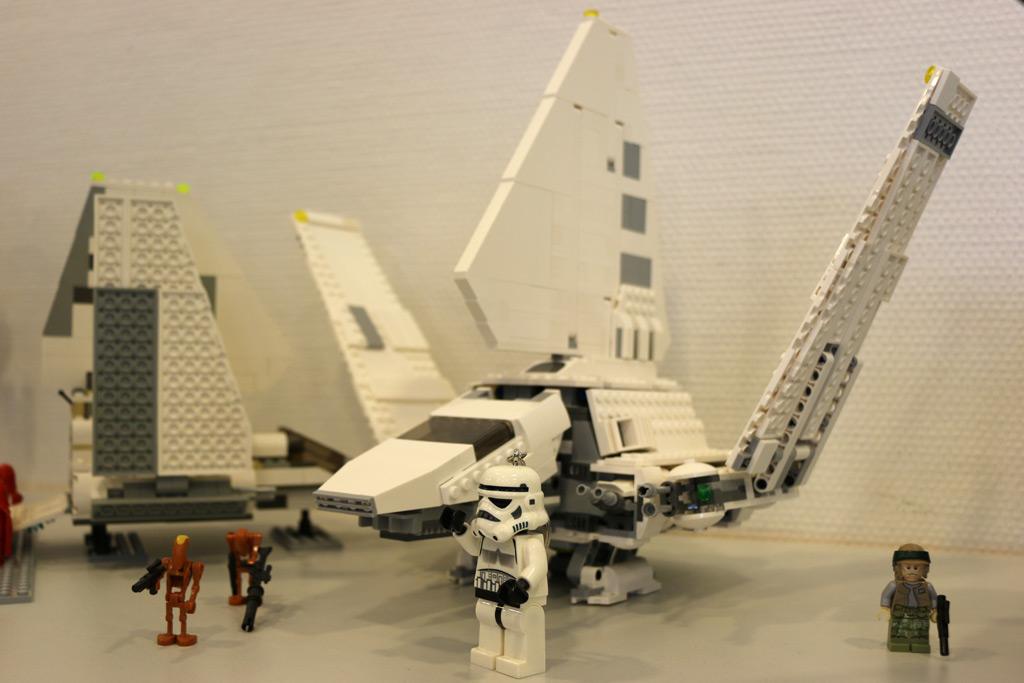 So ein Stormtrooper hält zuweilen Wachen... | © Matthias Kuhnt