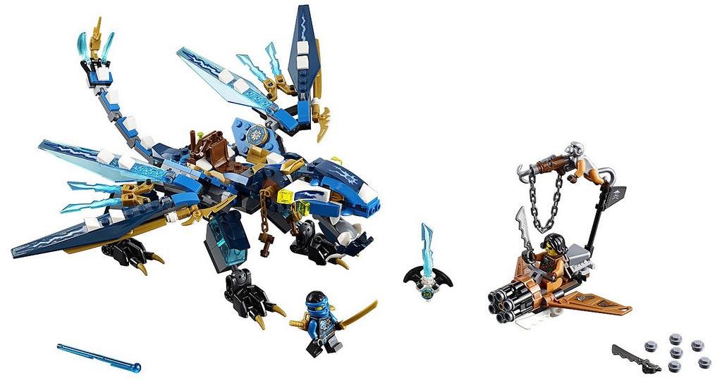 Jay's Elemental Dragon (70602)   © LEGO Group