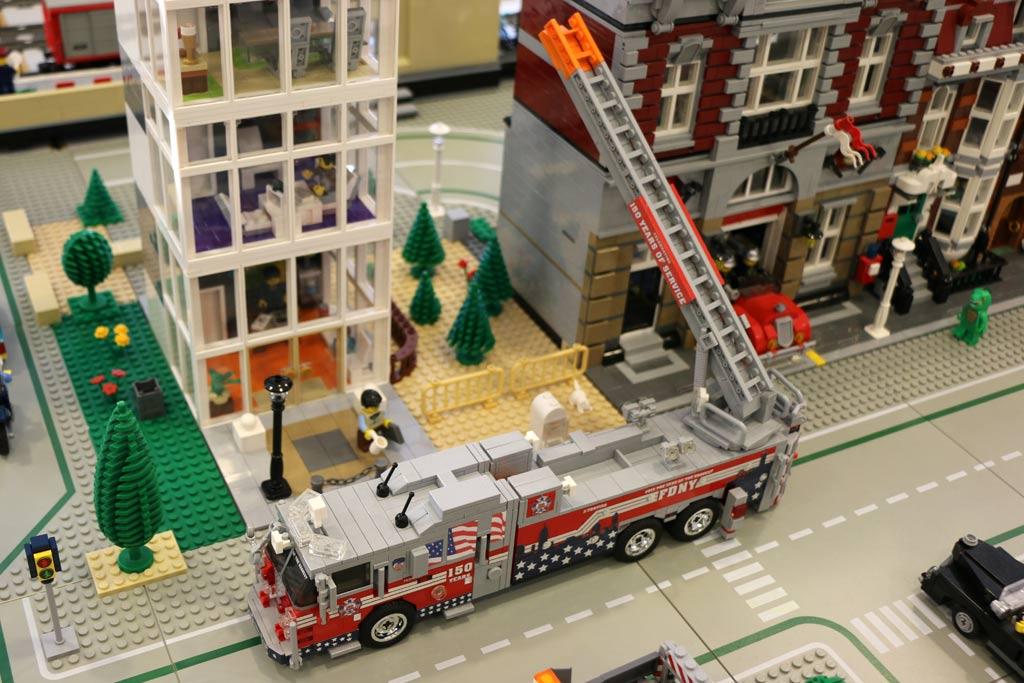 Die Feuerwehr ist da! | © Michael Kopp