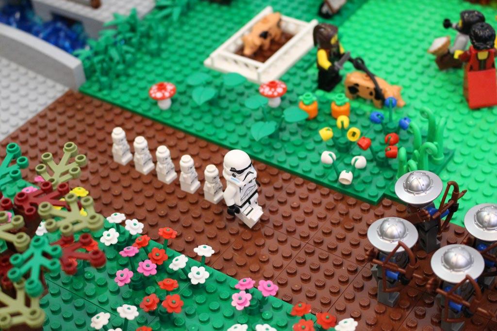 Auch ein Stormtrooper nebst Nachwuchs benötigt mal Frischluft. | © Gábor Horváth