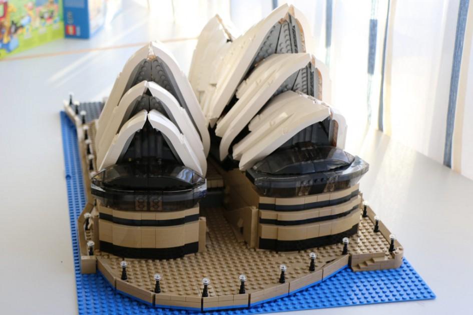 Phillip und seine Sydney Oper | © Michael Kopp