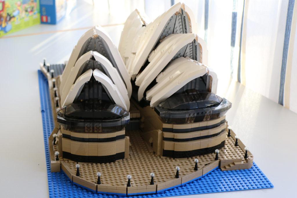 Phillip stellte unter anderem seine Sydney Oper aus. | © Michael Kopp
