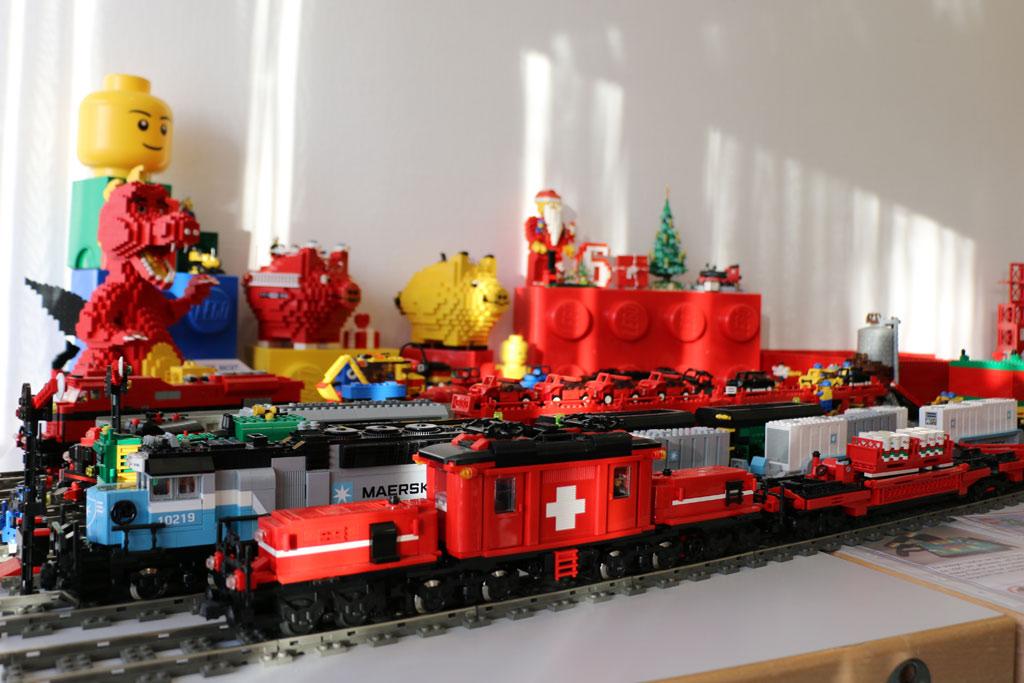 Andreas hatte viele, viele hübsche Züge dabei. | © Michael Kopp