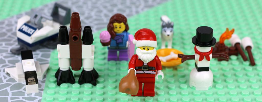 Lego City Adventskalender: Gruppenbild Türchen 17 bis 24 | © Andres Lehmann