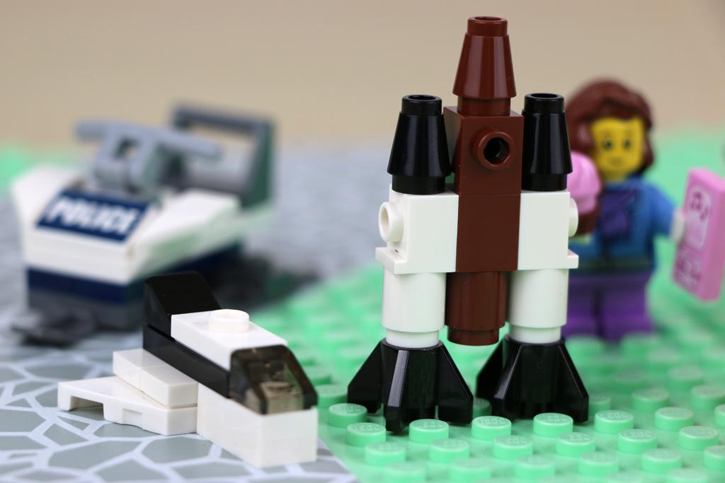 Der Lego City Adventskalender geht ab wie eine Rakete! | © Andres Lehmann