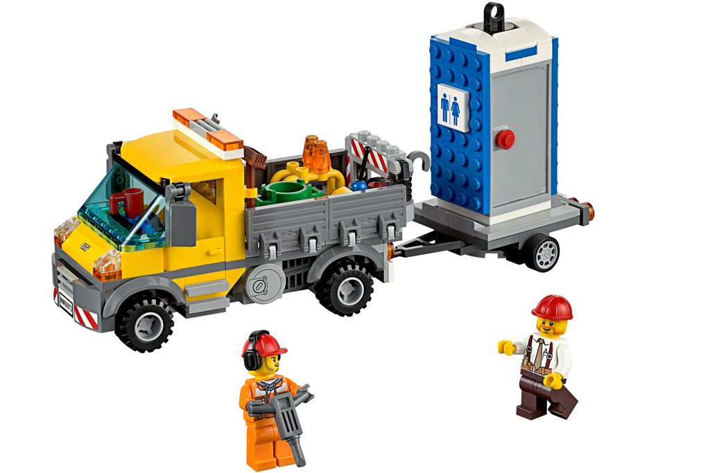Lego City Baustellentruck | © LEGO Group