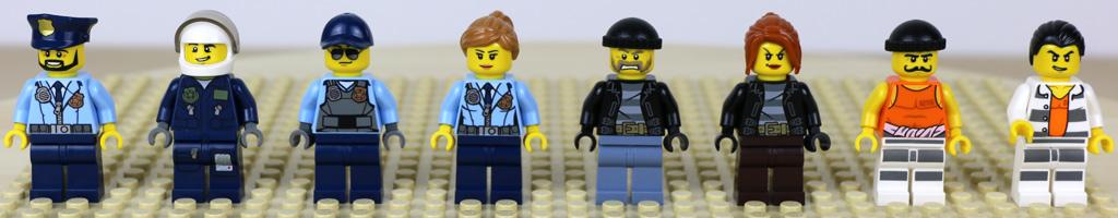 Vier Polizisten, vier Schurken | © Andres Lehmann