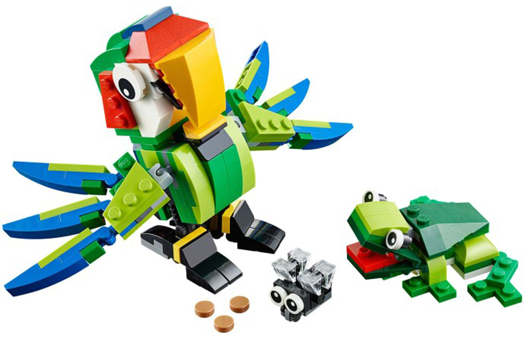 Rainforest Animals   © LEGO Group