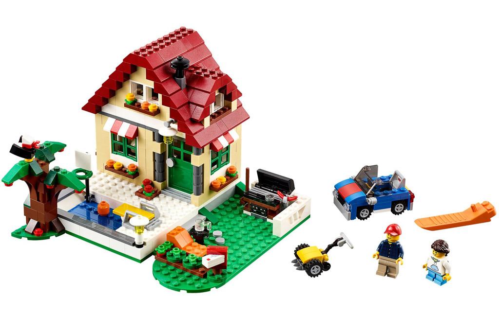 Lego Creator Wechslende Jahreszeiten | © LEGO Group