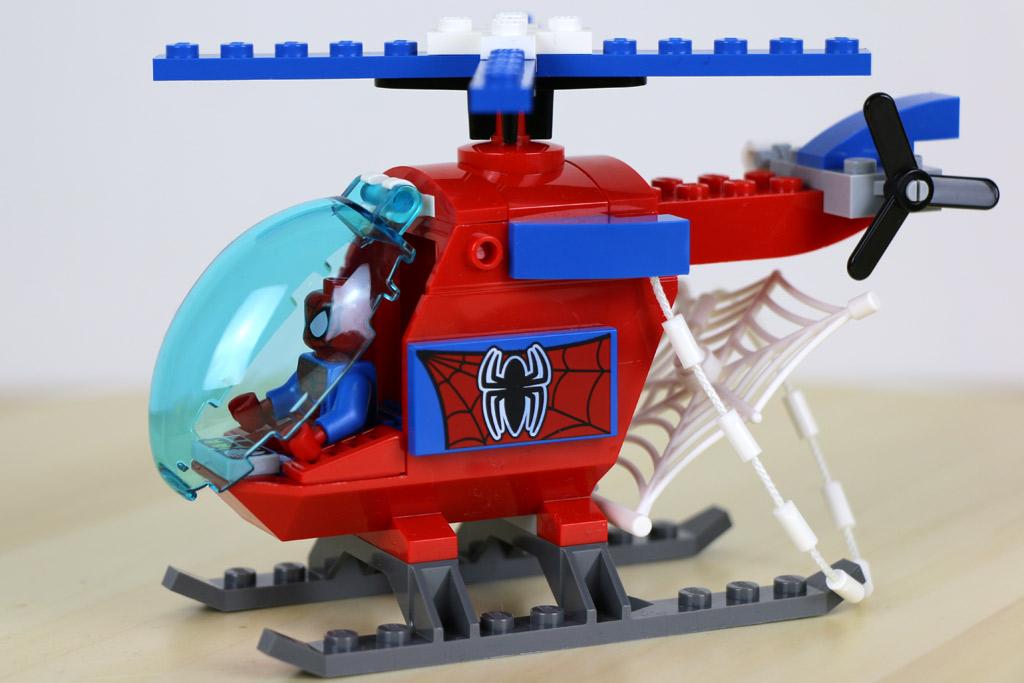 spiderman hubschrauber