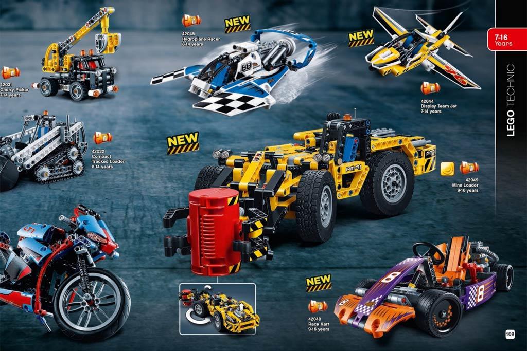 Neue Lego Technic Modelle im ersten Halbjahr 2016 | © LEGO Group