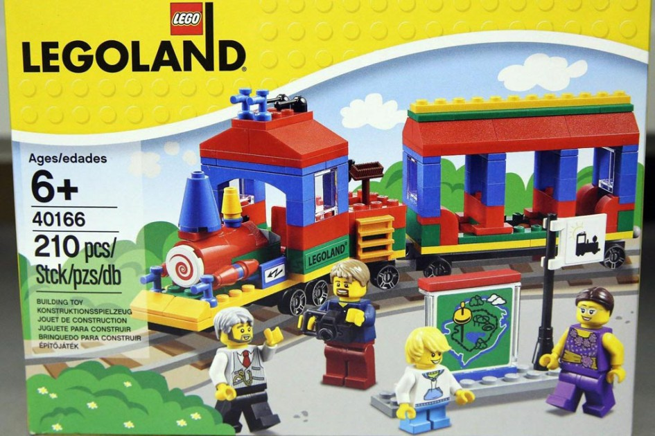 Neues exklusives Set im Legoland: Ein Zug! | © sportsballs33/ eBay