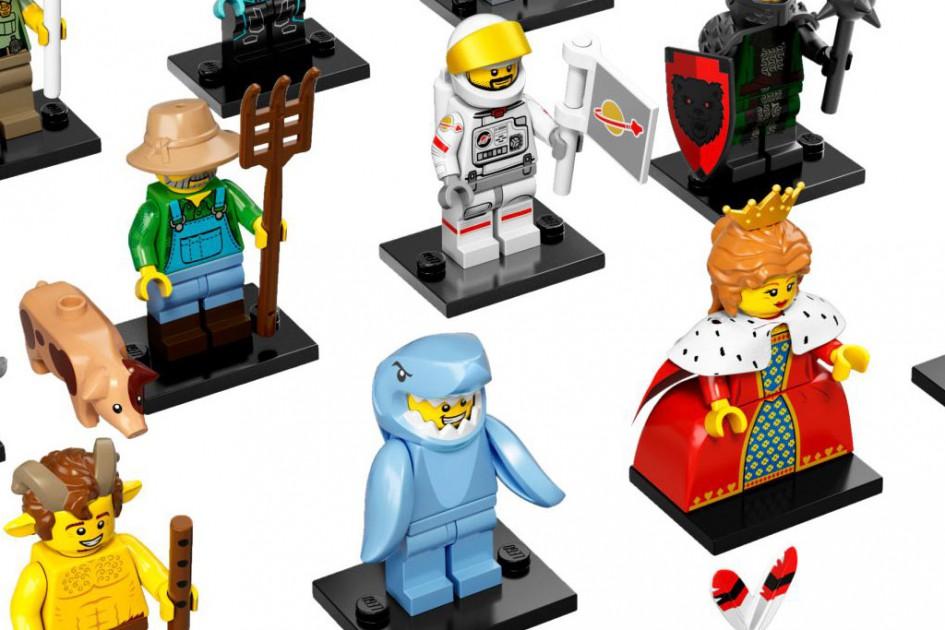 16 an der Zahl | © LEGO Group