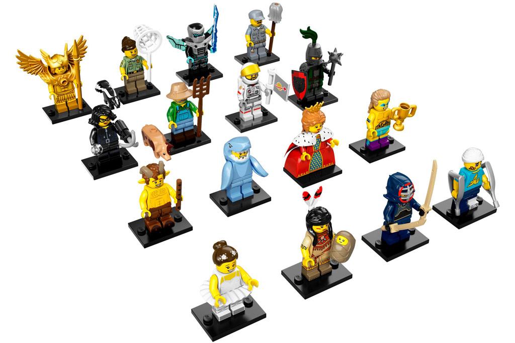 Alle 16 neuen Lego Minifiguren der... 16. Serie | © LEGO Group