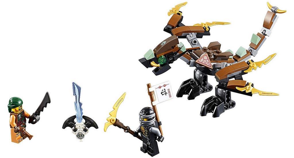 Und der Drache ist auch wieder los: Cole's Dragon (70599) | © LEGO Group