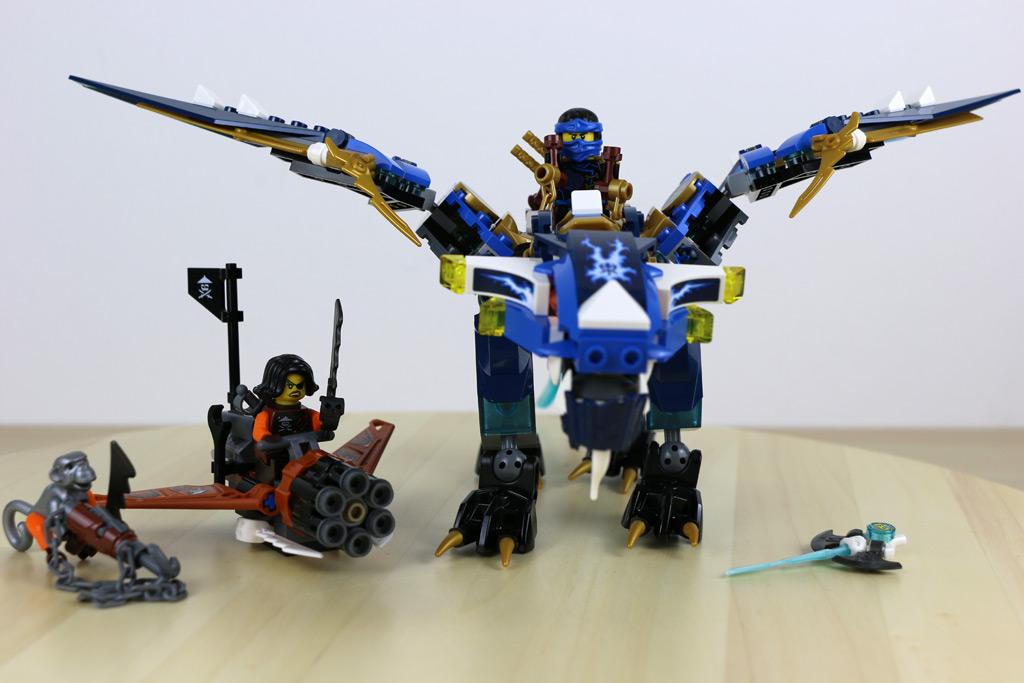 Lego ninjago 2016 jays drache im review ab in die l fte - Ninjago saison 7 ...
