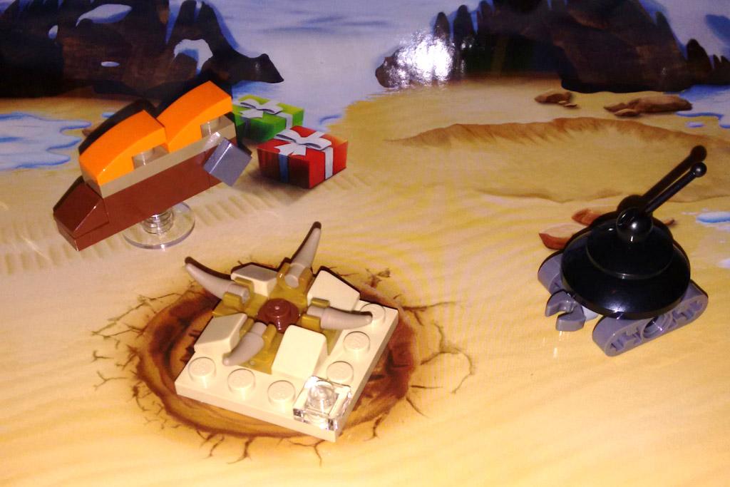 Lego Star Wars Kalender 2016: Türchen eins - drei   © Roland Triankowski