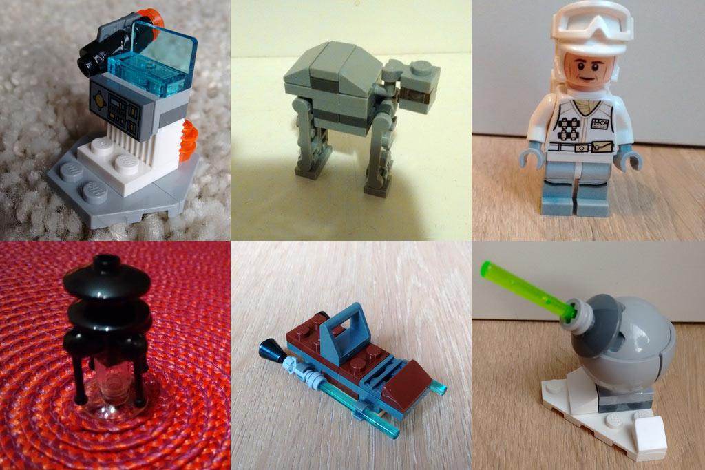 Lego Star Wars Adventskalender: 6 aus den letzten 8 | © Roland Triankowski