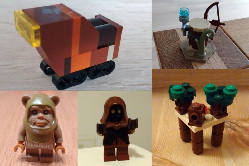 Lego Star Wars Adventskalender 2015:  Türchen vier bis acht | © Roland Triankowski